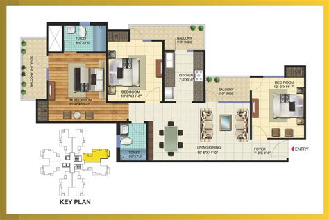 3bhk plan 100 3bhk house plans l u0026t emerald isle powai in