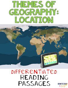 5 themes of geography reading themes of geography human environment interaction