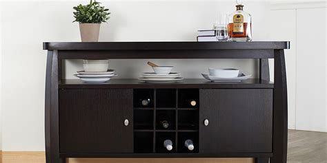 Kitchen Cabinets Wine Rack by 11 Best Sideboards And Buffets In 2018 Reviews Of