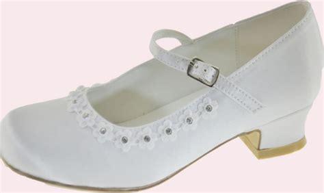 white communion shoes white communion shoes with flowers diamantes
