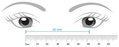 printable glasses ruler how to measure your pupillary distance eyebuydirect