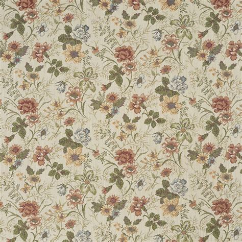 tapestry upholstery fabrics f929 red green and yellow floral tapestry upholstery fabric by the yard ebay
