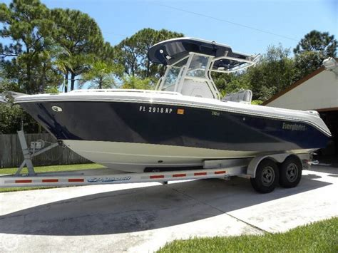 everglades 240 boats sale everglades 240 cc boats for sale boats