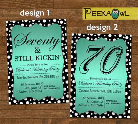 printable birthday invitations for 70th printable 70th birthday invitation card seventy still