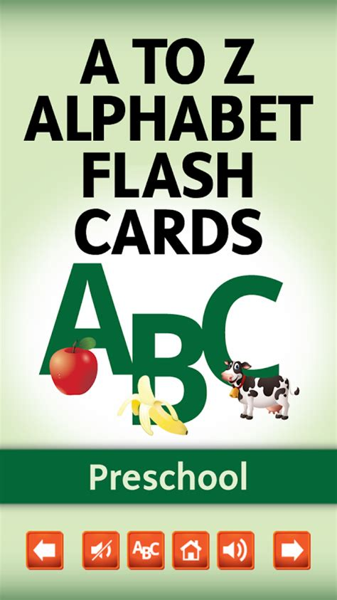 Smart Card Letters A Z a to z alphabet flash cards android apps on play