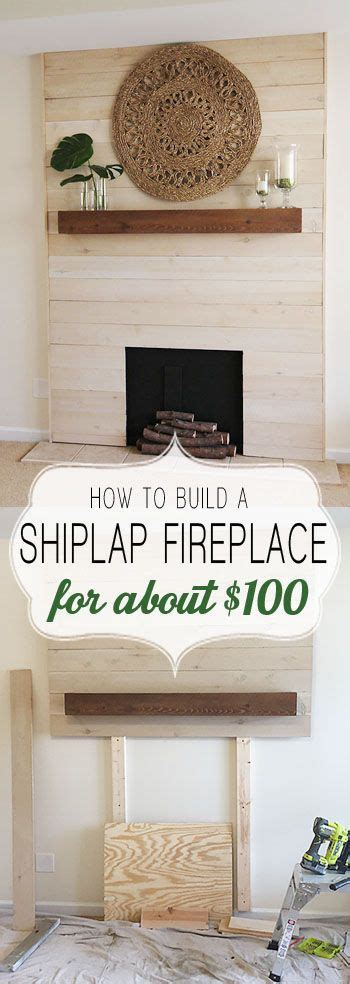 Imitation Shiplap 25 Best Ideas About Faux Mantle On Building A
