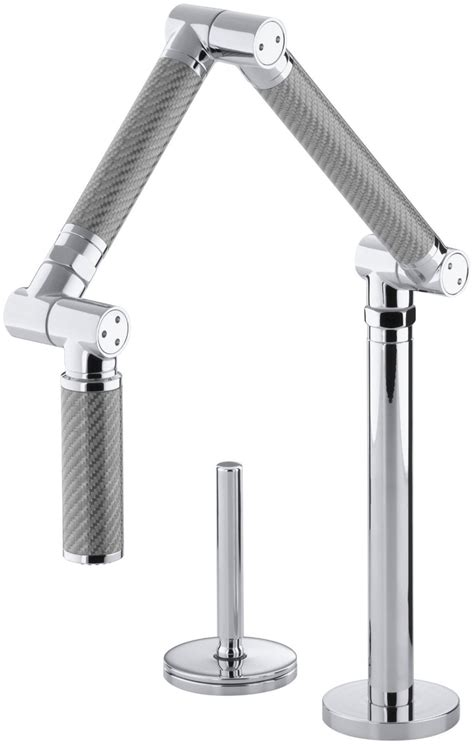 kohler karbon kitchen faucet five unusual and stylish faucets for bathroom