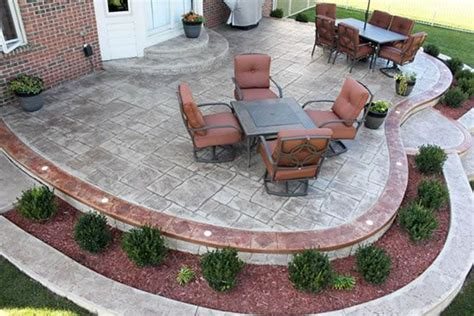 patio design nice design outside landscaping pinterest