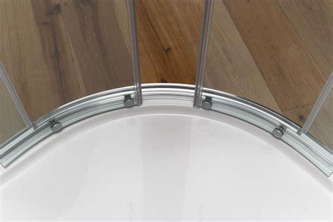 box doccia circolare yumi box doccia circolare scorrevole finitura bianco 80 cm