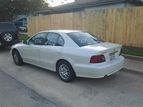 2001 mitsubishi galant es sell used 2001 mitsubishi galant es sedan 4 door 2 4l in