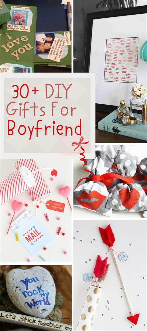 Handmade Things To Make For Your Boyfriend - 30 diy gifts for boyfriend 2017