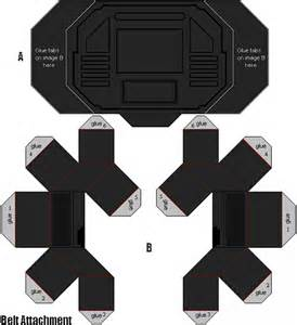 Power Rangers Morpher Papercraft - hey i made this this sorry about there being now