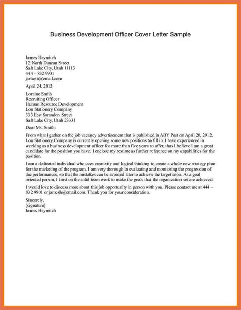 cover letter exles for business exles of business letters bio exle