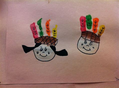 Indian Paper Crafts - 22 best images about americans piligrims theme on