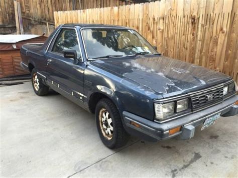1985 subaru brat for sale 1985 subaru brat for sale in marion nc