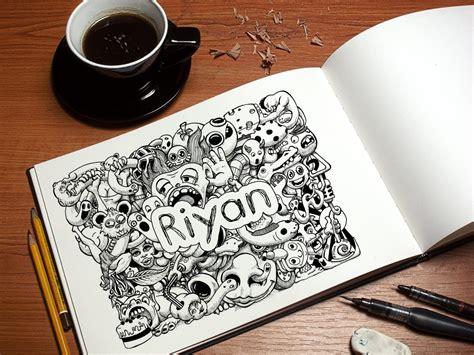 membuat doodle nama riyan multimedia tutorial membuat doodle nama