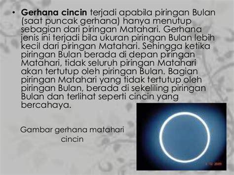 Matahari Dan Bulan pptku gerhana matahari dan gerhana bulan