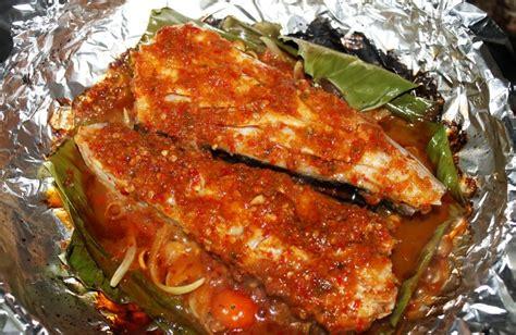 membuat nasi bakar dengan aluminium foil resepi ikan pari bakar sambal special sedap resepi
