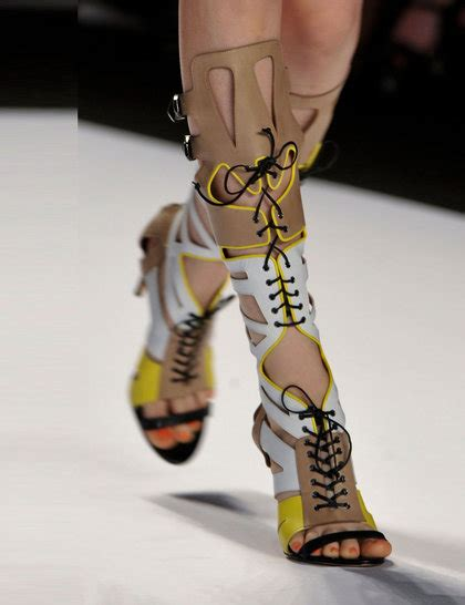 New Arrival Best Seller Sandal Chanel 1128 2 minkoff beige yellow boot nyfw14 imaxtree ga