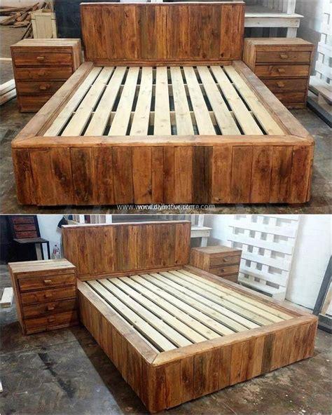 diy wood pallet bed 100 diy ideas for wood pallet beds diy motive