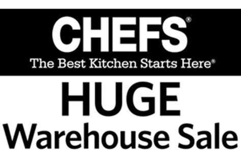 Up To 85% Off at CHEFS Catalog Fall Warehouse Sale