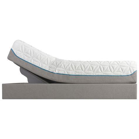 tempur pedic 174 tempur cloud luxe ultra soft mattress and tempur up adjustable grey