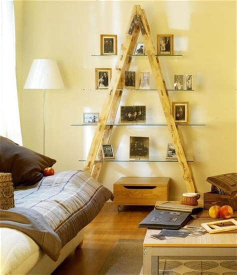 living room diy decor 20 diy ladder shelf ideas creative ways to reuse old