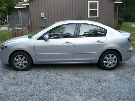 2007 mazda mpg buy used 2007 mazda3 i 4 door sedan silver 5 spd manual
