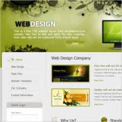 Free Web Design Template free website design templates search engine at