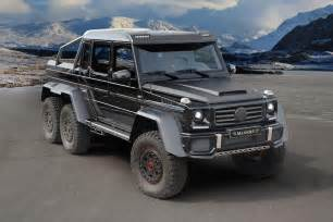 G63 Mercedes Mansory Mercedes G63 Amg 6x6 Boasts 828 Hp Digital