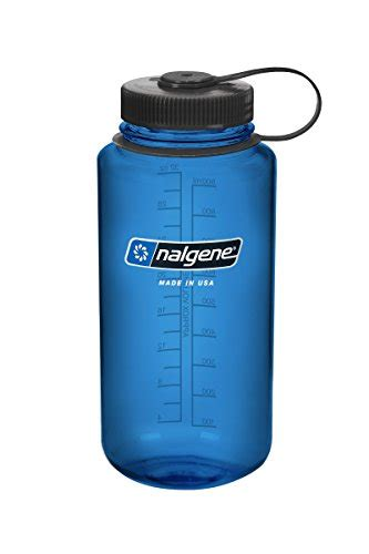 Nalgene Flask Blue nalgene wide water bottle 32oz blue outdoorsportsadviser your 1 source for