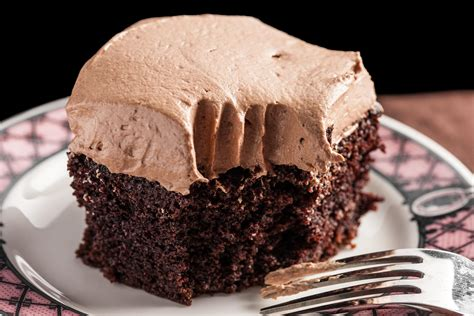 easy chocolate sheet cake with mocha buttercream frosting