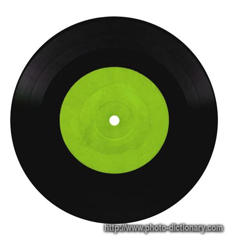Records Meaning Vinyl Record Photo Picture Definition At Photo Dictionary Vinyl Record Word And