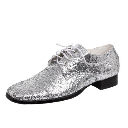 1 inch dress shoes summitfashions mens oxford dress shoes silver glitter disco shoe laceup 1 inch heel sizing
