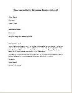 employees layoff disagreement letter writeletter2
