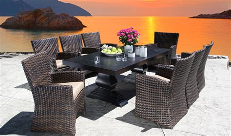 lifestyle outdoor furniture louvre dining bishop s centre bishop s outdoor living patio furniture pits umbrellas