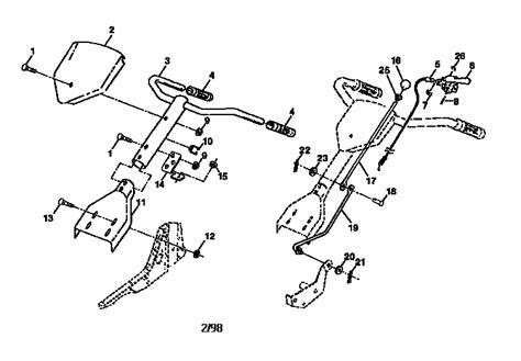 craftsman tiller parts diagram craftsman tiller parts model 917292400 sears partsdirect