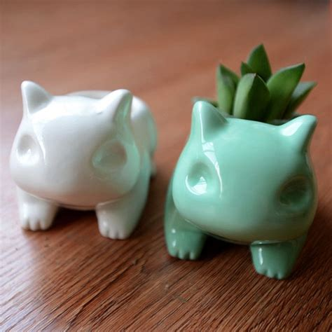 Bulbasaur Planter by The Cutest Bulbasaur Flower Pots