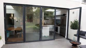 Bifold Patio Doors Bi Fold Patio Doors Aluminium 3 Panel Up To 10ft Wide 163 2395 Ebay
