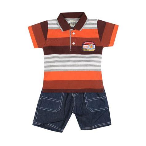 Jumpsuit Anak Kerah by Jual Tompege Tp 719b Kerah Kecil Setelan Pakaian Anak Laki