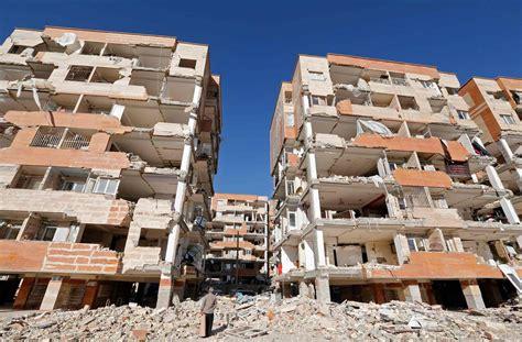 earthquake kermanshah residents scarred by devastating earthquake near iran iraq