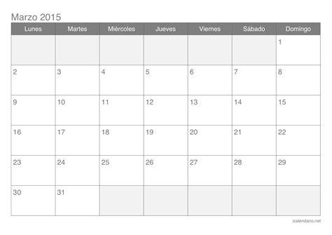 Calendario De Marzo Calendario De Marzo Imagui