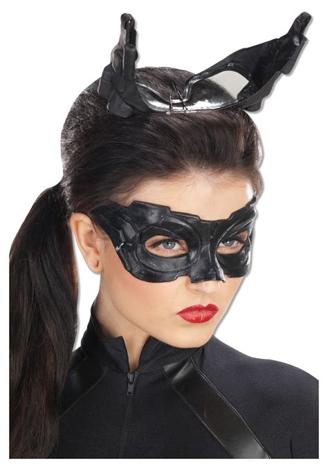 womens halloween costumes with masks deluxe catwoman mask