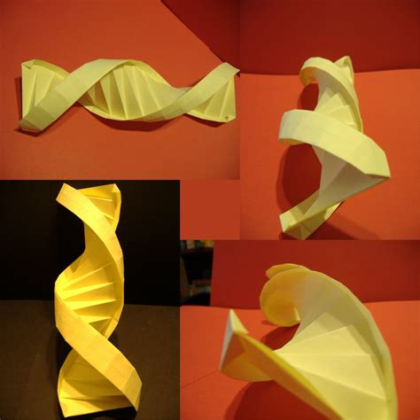 Helix Origami - dna or adn helix by foligna on deviantart