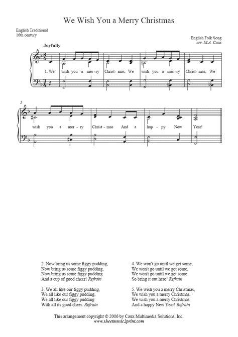 merry christmas sheetmusicprintcom
