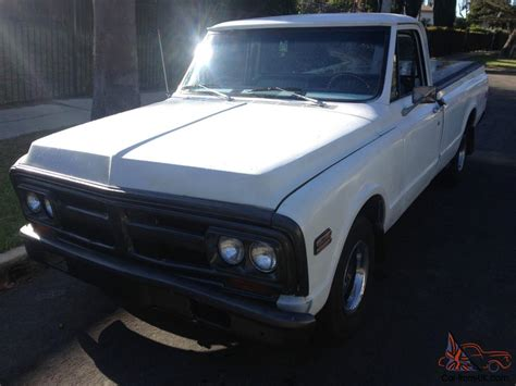 bed ls 1972 gmc c10 regular cab long bed w ls swap and overdrive