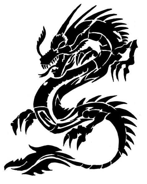 chinese tribal dragon tattoo designs tribal designs search for me