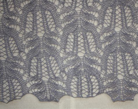 All Knitted Lace Flowers Lace Pattern