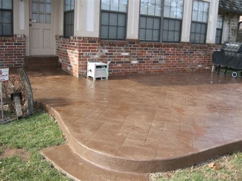 How Should A Concrete Patio Be by Sted Concrete Patio Pictures And Ideas