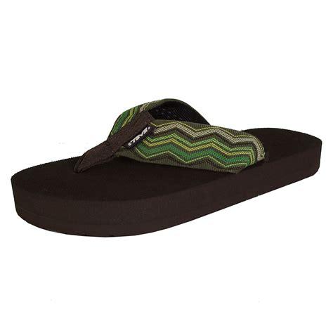 flip flop sandals teva womens original mush flip flop sandal shoes ebay